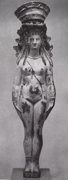 Isis/Hathor statue from the Egyptian Museum in Berlin