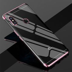 9857fd0ce Luxury Transparent Case For Xiaomi Redmi Note 5 Pro Ultra-thin Clear  Plating Shining Soft TPU Case cover For Redmi Note 5