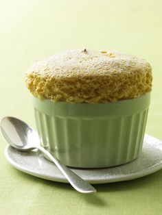 Pumpkin Souffles  These souffles bake up in individual ramekins which creates an impressive presentation and a perfect dessert for your holiday dinner guests. The fluffy texture will be welcome end to a filling meal.