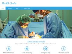 HealthCentre is WordPress theme designed suitble for Hospitals, Clinics, Medical Professions, Health and Medical Blogs and for any type of business's so this theme focus performence, speed, lightweight clean, fast...