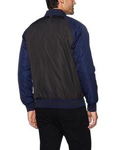 bac3908d91dd Amazon.com  Scotch   Soda Men s College Inspired Bomber Jacket in Nylon  Twill Quality  Clothing
