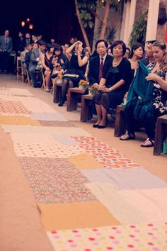 13 Incredibly Unique Wedding Aisle Runners You Never Thought Of!