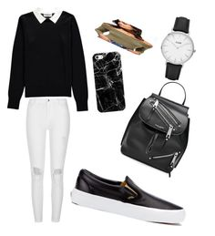 """""""Untitled #21"""" by non-mm ❤ liked on Polyvore featuring Essentiel, River Island, Miss Selfridge, CLUSE, Casetify, Marc Jacobs and Vans"""