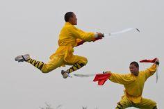 Shaolin Monks perform Kung Fu. Dennis Kruyt via Flickr. Martial Arts: Learning to Kick Butt at Xen-Do http://www.justaplatform.com/martial-arts-kung-fu-tae-kwon-do-karate/