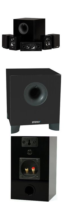 Home Speakers and Subwoofers: Energy 5.1 Take Classic Home Theater System (Set Of Six, Black) - 1008207 -> BUY IT NOW ONLY: $269.99 on eBay!
