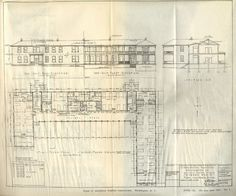 Emergency Hospital Buildings, Pneumonia Ward No.1, Plans, Elevations & Sections, Approved 10 October 1918.