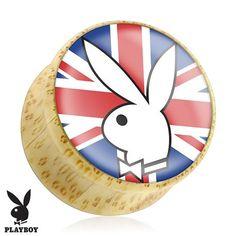écarteur playboy drapeau anglais 10 mm