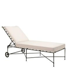 Quadratl adjustable chaise lounge with arms janus et cie for Amalfi chaise lounge