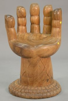 Pedro Friedeberg style hand chair. ~ Realized Price $1,250.00