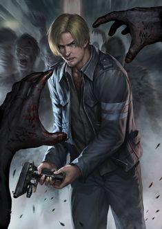Resident evil 6 Leon by *chrisnfy85 on deviantART (Love Leon)