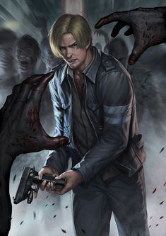 Resident evil 6 Leon by *chrisnfy85 on deviantART