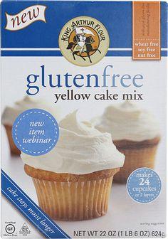 King Arthur Flour Yellow Cake Mix Gluten Free