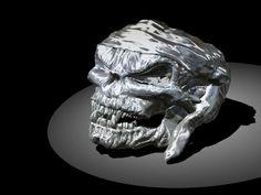 Skull Ring by Marco Giardini Gioielli! Scary! ! !
