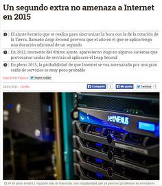 Un segundo extra no amenaza a internet en 2015 / @diarioturing | #sci #tech #inn