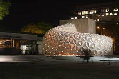 Freie Form brennt schwer: Biokunststoff-Fassadenelemente - DETAIL.de