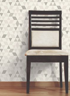 A neutral, geometric wallpaper is the perfect background, allowing you to let your personality flow. Choose a strong accent colour to really make your furnishings pop. View our full range of wallpaper on diy.com