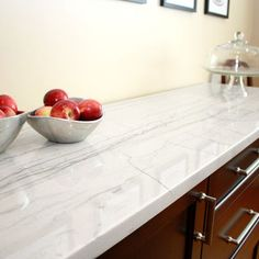 White Macaubas Quartzite Counter