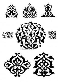 grey persian brush pack 03 pattern ornament pinterest teppich kn pfen querbeet und kn pfen. Black Bedroom Furniture Sets. Home Design Ideas