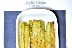 Cardi gratinati al Parmigiano #cucinaparadiso #cardi #veggie #parmigiano #gratin #forno
