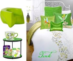 """Tinkerbell room"" by tinknminnie on Polyvore"