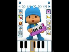 Talking Pocoyo repeats you, plays instruments, dances, and plays a game, all can be recorded and save to share later!