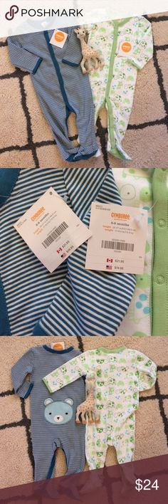 🎁NWT Gymboree jammies bundle!🎁 🎁great holiday gift!🎁 My favorite part of Gymboree jammies are the gripper bottoms, perfect for this age where the little ones getting mobile! And who couldn't love that little bear booty?? Both are NWT ! Gymboree Pajamas