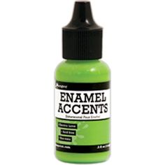 Ranger Inkssentials Enamel Accents .5oz - Electric Lime