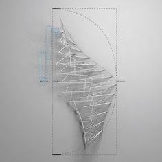 architecture model, plotting abstract volumes