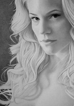 Portrait of Elizabeth Dunn by Mary Jones Easley