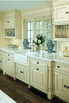 Lovely French country kitchen~