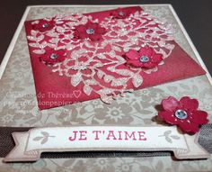 Stampin' UP! Bloomin' Love, Eclosion d'amour #valentine, #paperpassionpapier, #occasions2016,#stampinup