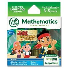 LeapFrog® Explorer Learning Game - Jake and the Never Land Pirates