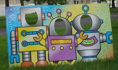 Cute for a robot party! #robot