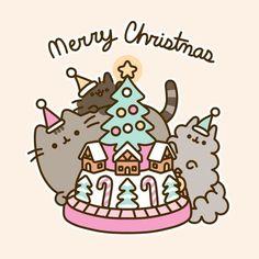 "14.9 k gilla-markeringar, 140 kommentarer - Pusheen (@pusheen) på Instagram: ""Merry Christmas! """