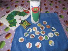 D'autres sacs à albums en GS chez Cath Cathie La Petite Taupe, Diy Pour Enfants, Activities For Kids, Crafts For Kids, Reading Games, Reading Activities, Story Sack, Very Hungry Caterpillar, Teacher Organization