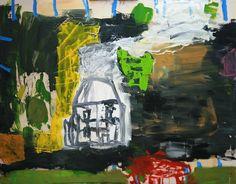 Roy Oxlade, House StLeonards, oil on canvas, 122 x 152 cms. JP Art Consultancy - David Drey