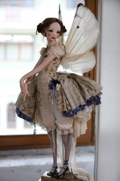 Art doll by Alisa Filippova.