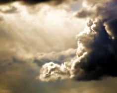 Storm Clouds Photography sun raysGifts under by VanillaExtinction, $30.00