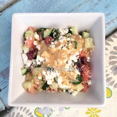 21 Day Fix: Greek Salad Dressing | From Forks to Fitness