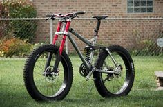 Fat bike #fatbike #bicycle #fat-bike