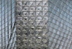 Glass facade, Laterna Magica (New Stage), Prague, Karel Prager, 1983
