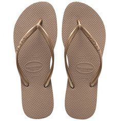 033f498dc5f563 Havaianas Slim Rose Gold Flip Flop These beautiful slim rose gold havaianas  are very popular with our lady clients. The are a