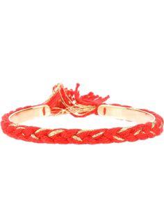 AURELIE BIDERMANN thin 'Copacabana' bracelet - on Vein - getvein.com