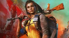 Far Cry 6, Review, Female, Character, Ak47, NoobFeed