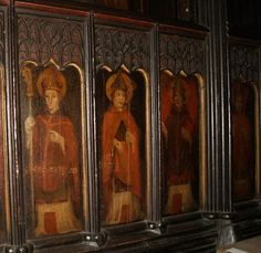english painted medieval woodwork - Google Search