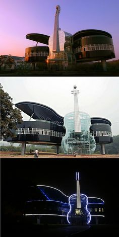 The Piano House, Huainan, China