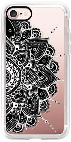 Casetify iPhone 7 Classic Grip Case - Mandala by Li Zamperini Art #Casetify