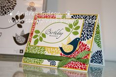 Stampin Up! New Stamp Set- Betsy's Blossoms