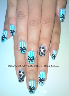 Strips and Bows Nails