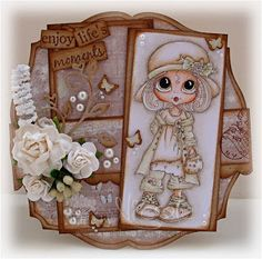 Bestie card by Nicole.... a little beauty ♥ ♥